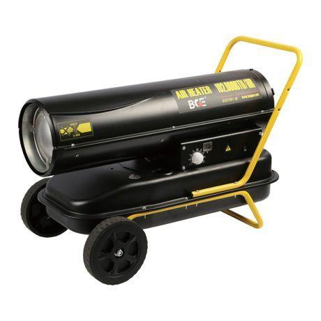 Calefactor gasoil 80 KW combustión indirecta chimenea